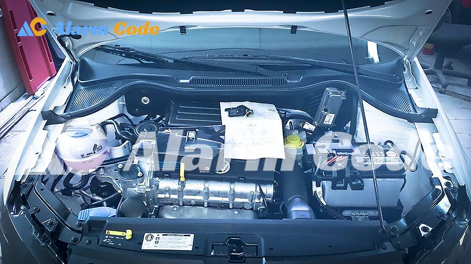 Установка сигнализации MS 530 на VW Jetta Sochi Edition