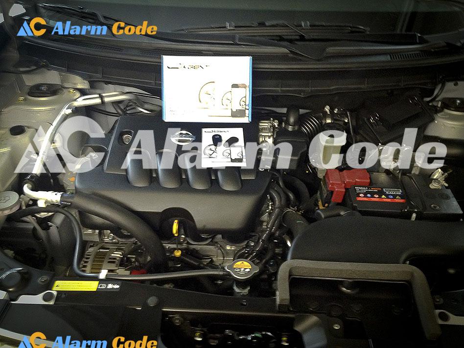 Установка сигнализации на Nissan X-trail