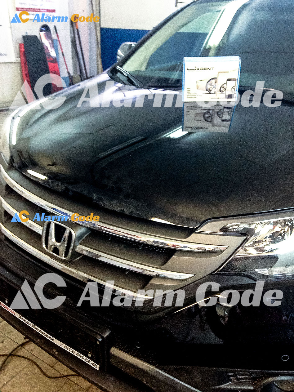 Установка противоугонной системы на Honda CRV
