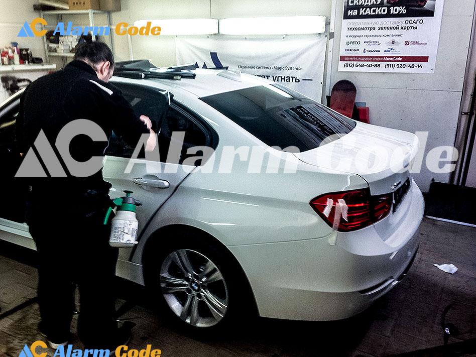 Тонировка BMW 320d по госту