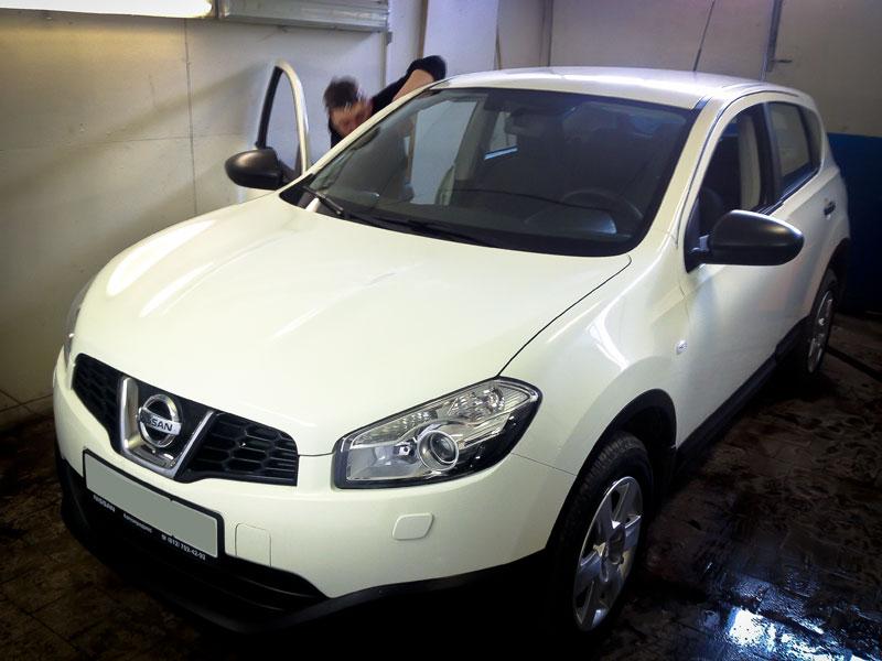 Установка автосигнализации MS-530 на Nissan Qashqai 2013