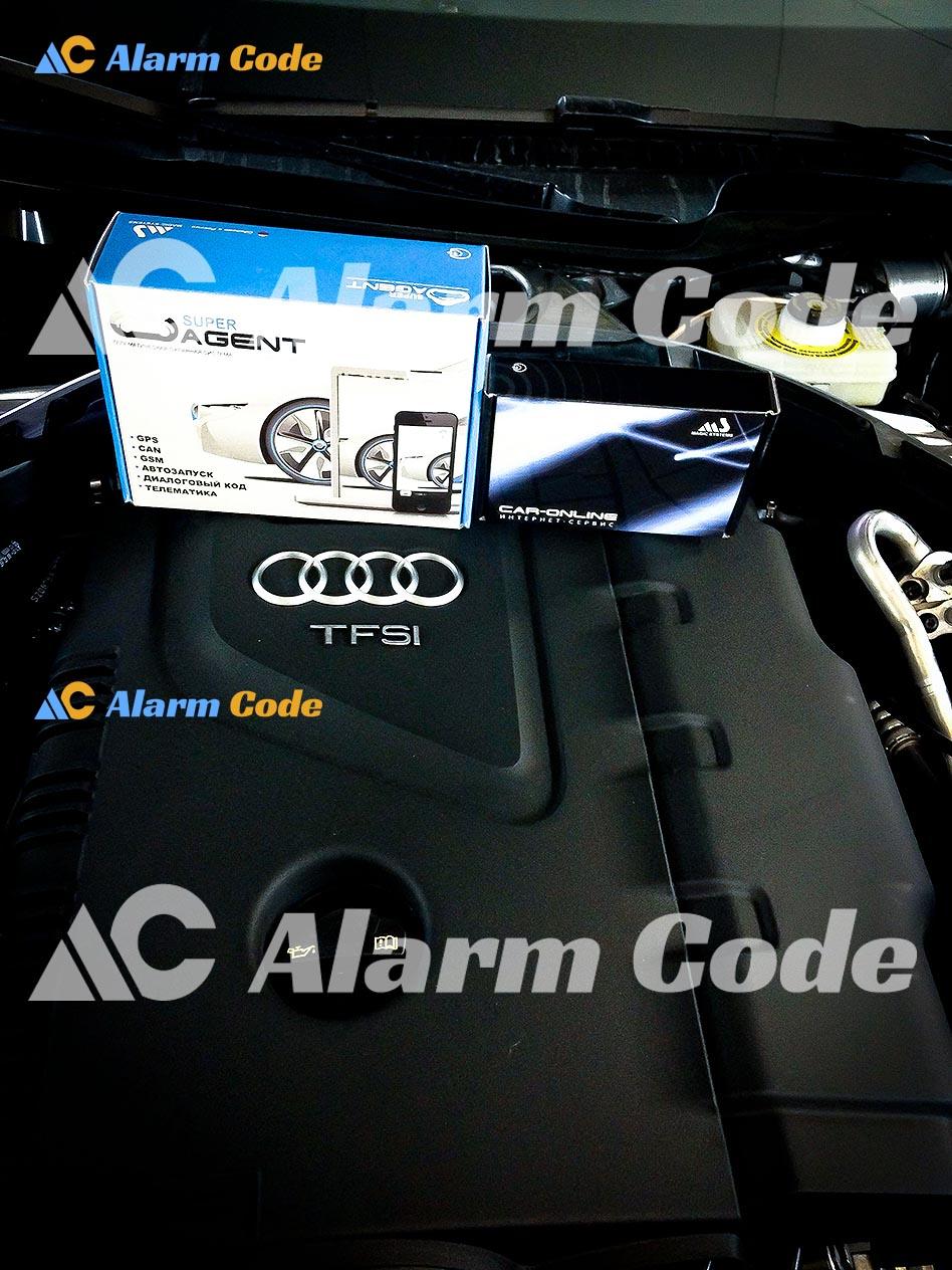 Противоугонный комплекс на Audi A5