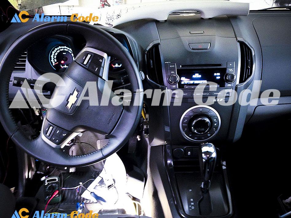 Установка противоугонной системы на Chevrolet Traiblazer