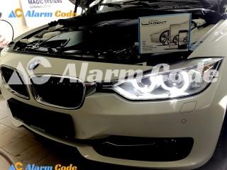 Противоугонная система на BMW 320d