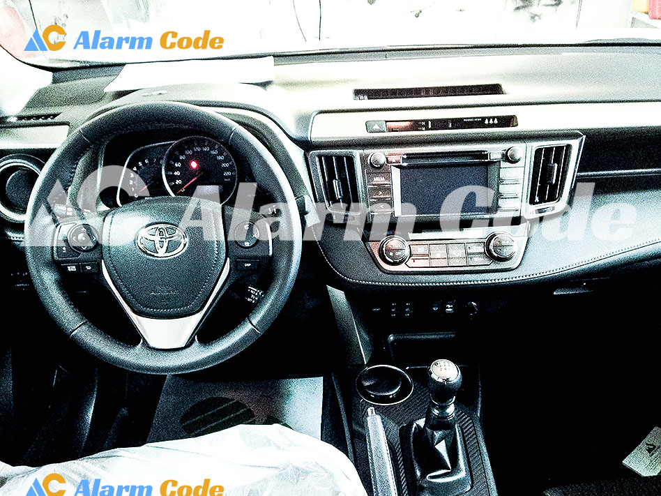 Противоугонная система на Toyota RAV4