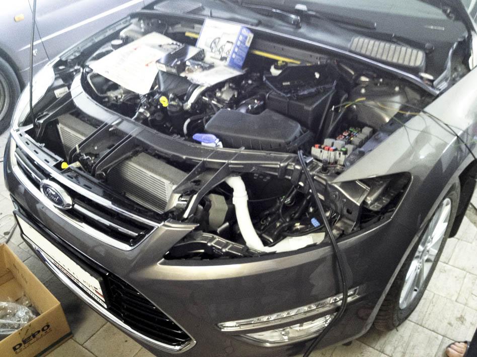 Установка противоугонной системы Супер Агент Expert на Ford Mondeo