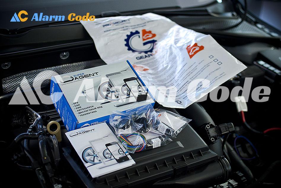 Установка противоугонной системы на VW Golf VI