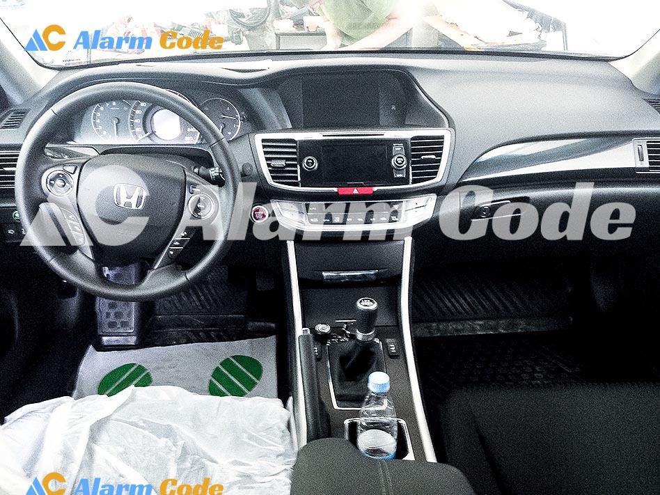 Противоугонная система на Honda Accord 2014