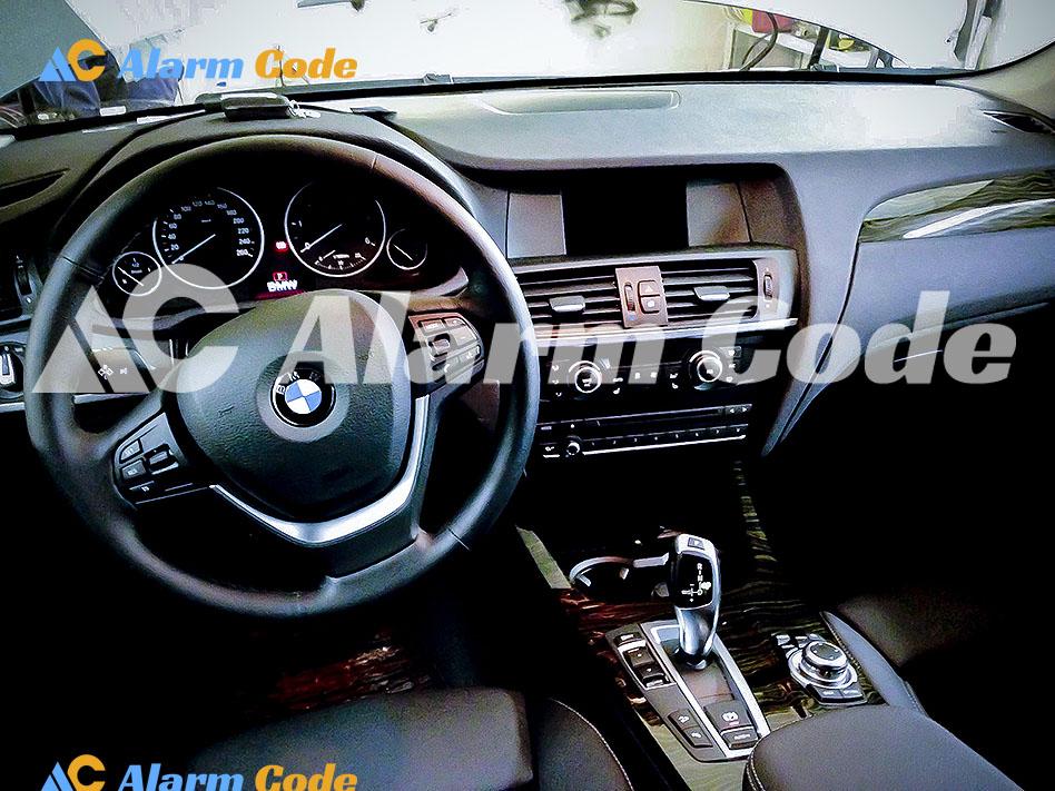 Установка противоугонной системы Сталкер Expert на BMW X3