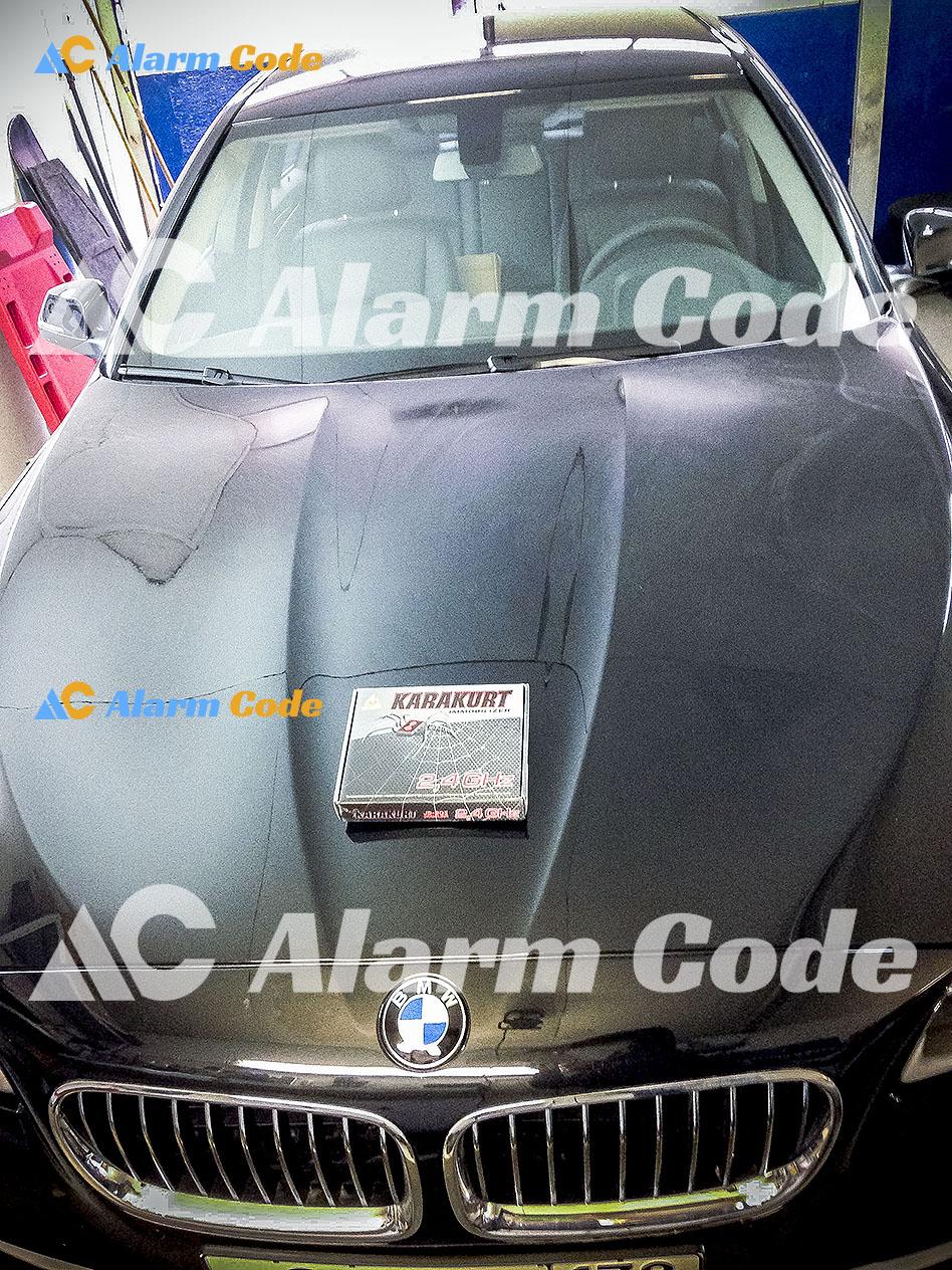 Установка иммобилайзера Karakurt JS-205 на BMW 5