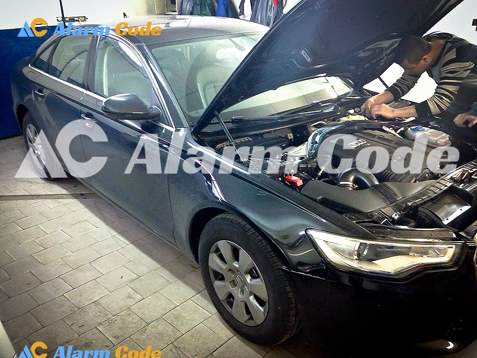Сигнализация на Audi A5
