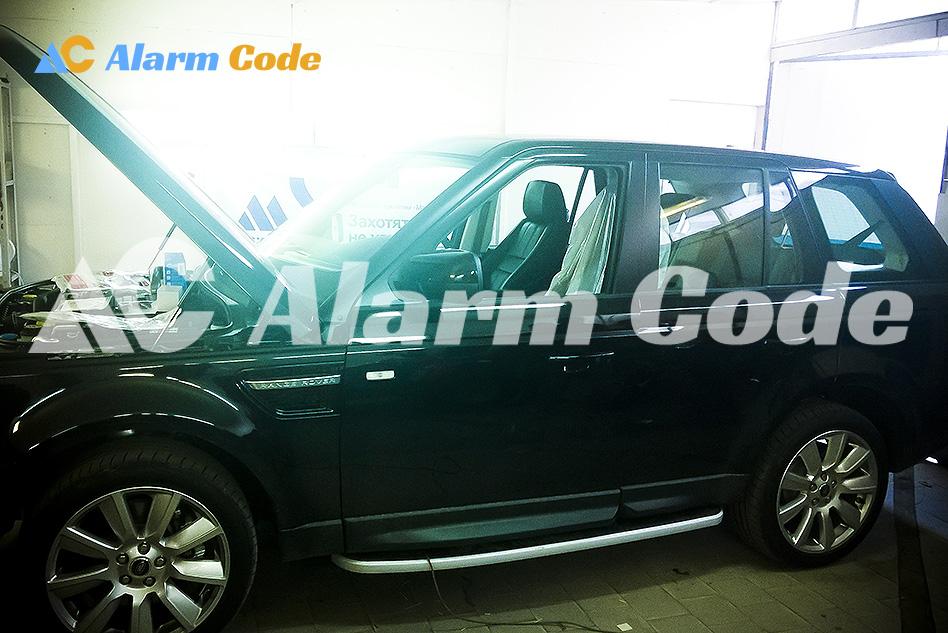 Охрана Range Rover