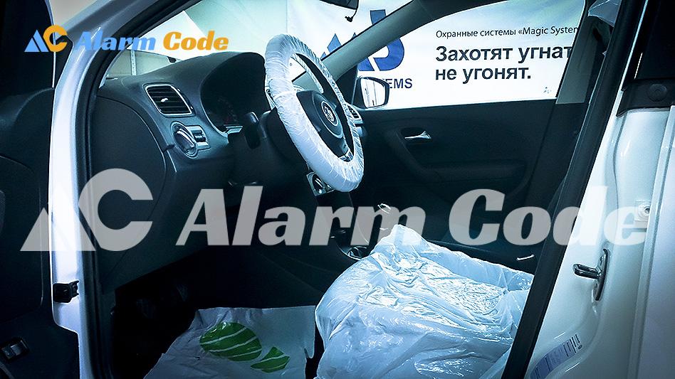Установка сигнализации на VW Polo Sochi Edition