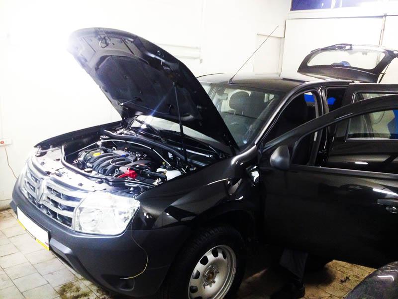 Установка противоугонной системы на Renault Duster