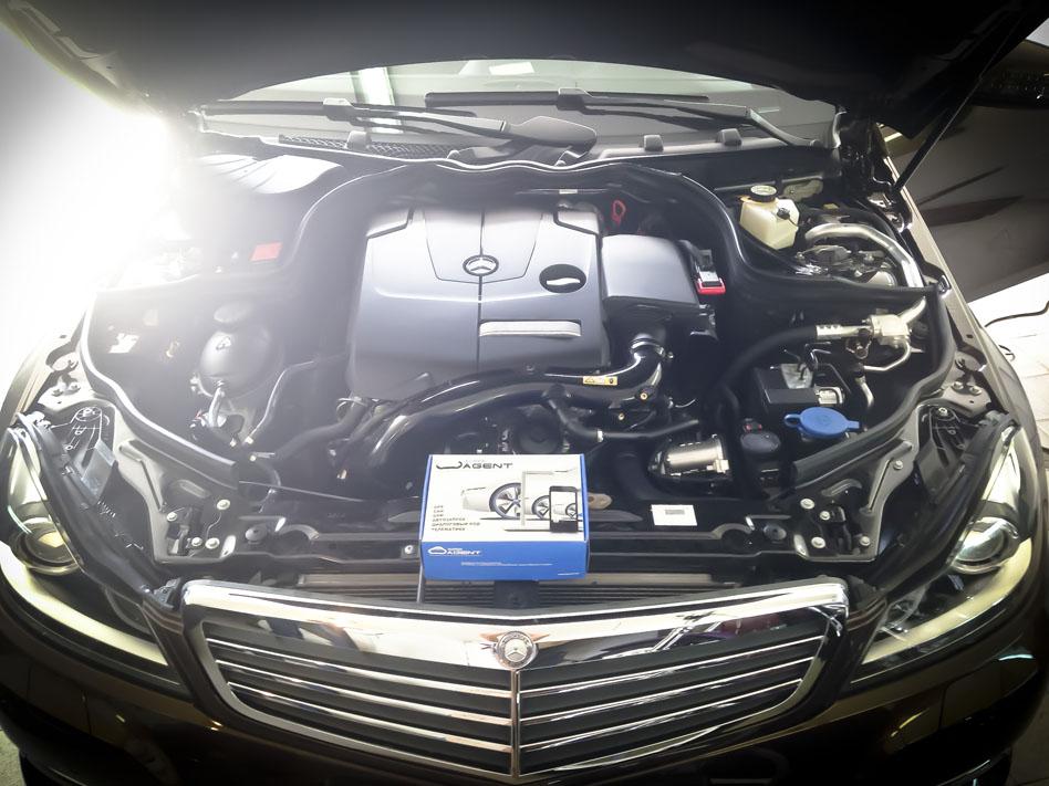 Super Agen на Mercedes Benz