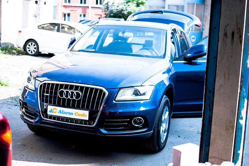 Угон и возвращение Audi Q5
