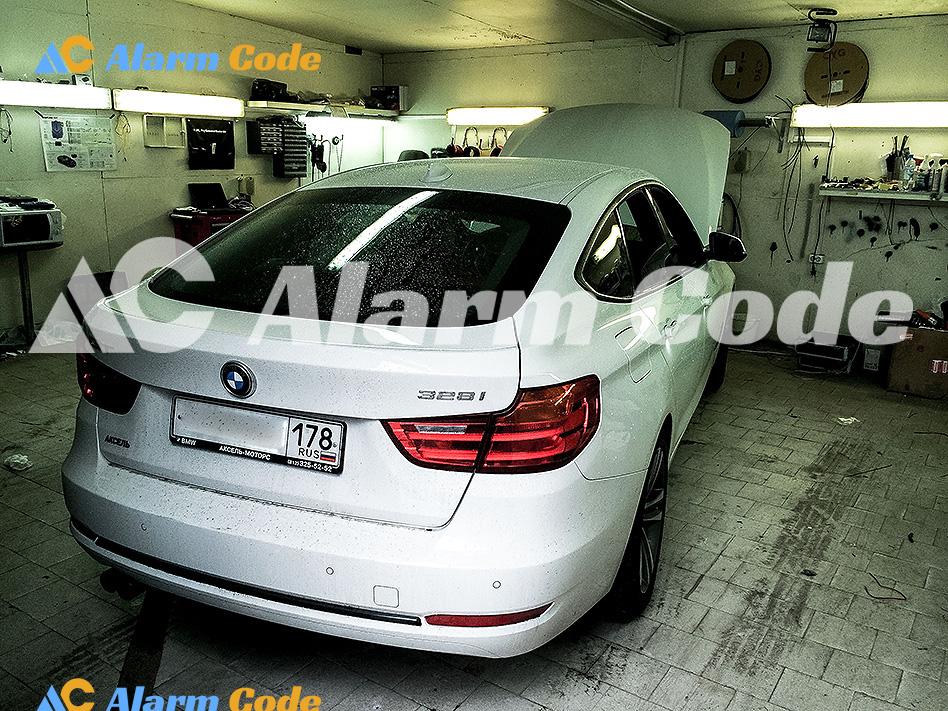 Противоугонка BMW Grand Turismo 328i