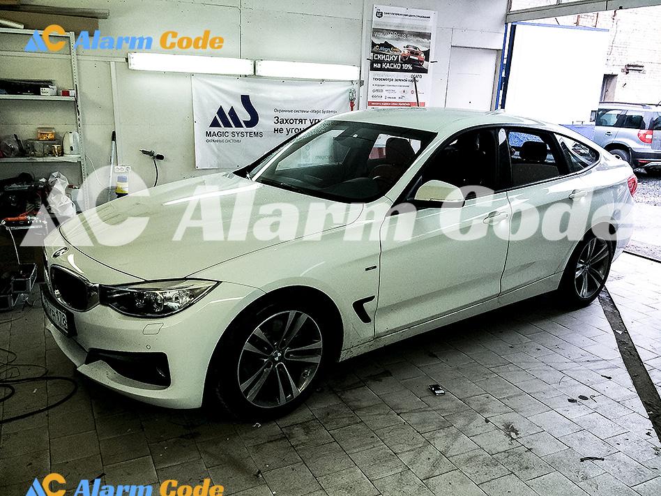 Сигнализация на BMW Grand Turismo 328i