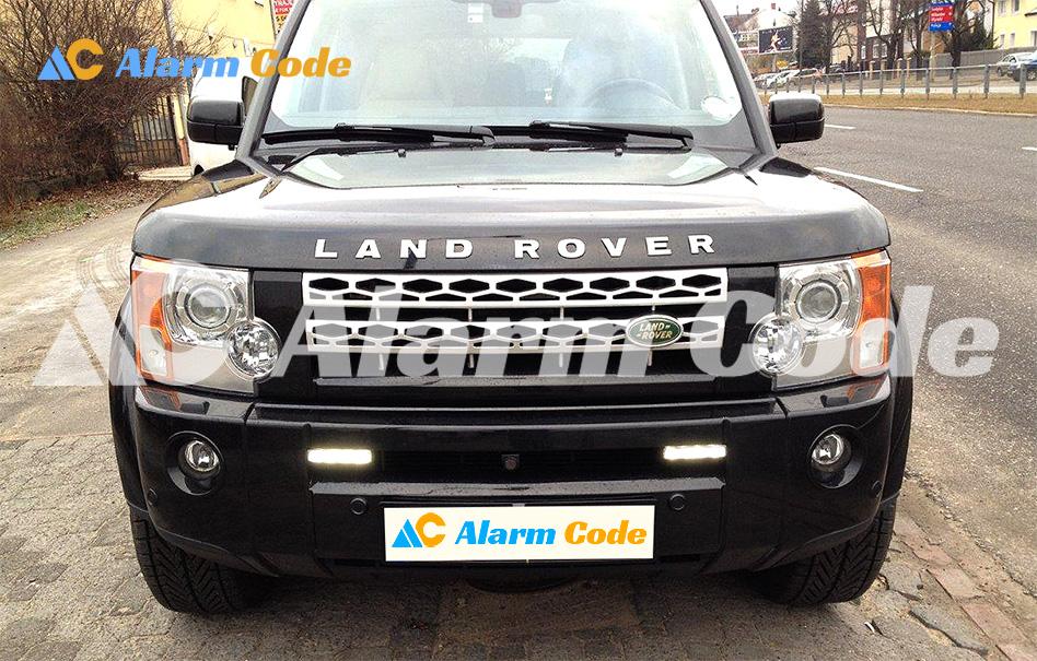 Установка дневных ходовых огней на Range Rover
