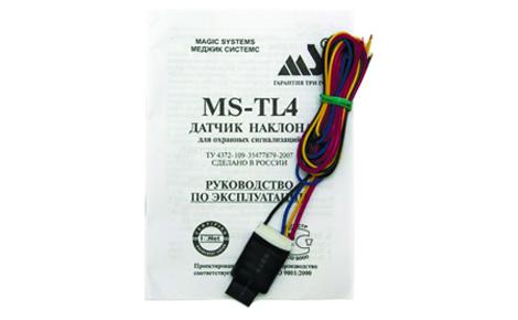 Датчик наклона/перемещения/удара MS-TL4