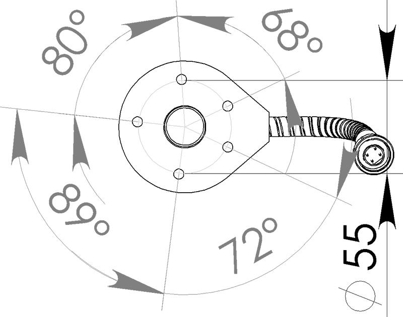 Схема датчика уровня топлива