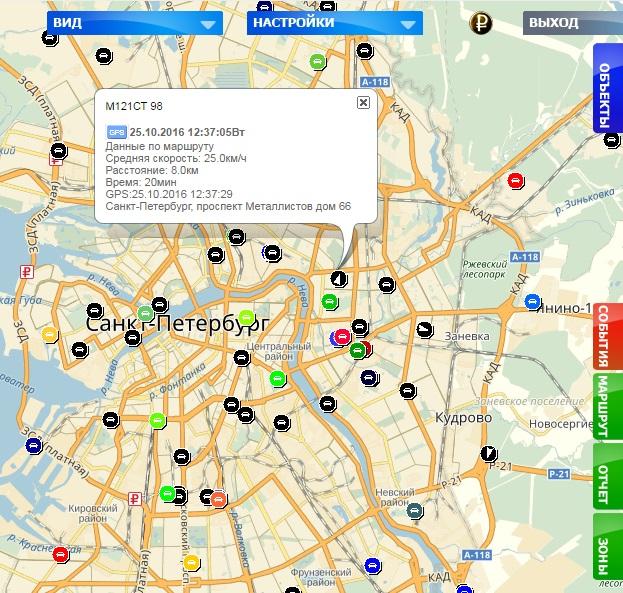 gps глонасс карта мониторинга