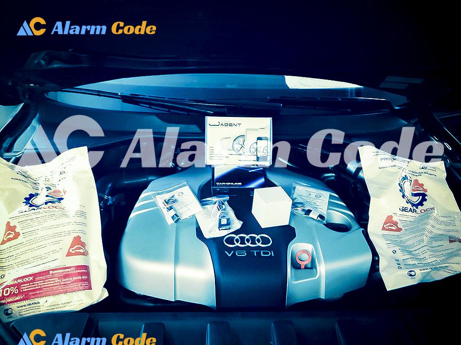 Установка противоугонной системы на Audi Q7