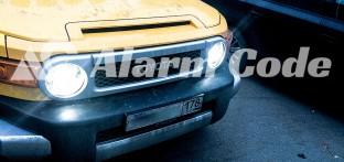 Биксеноновые линзы на Toyota FJ Cruiser